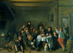 A Family Merrymaking | Jan Miense Molenaer | Oil Painting