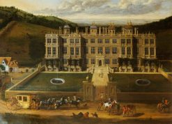 View of Longleat   Jan Siberechts   Oil Painting