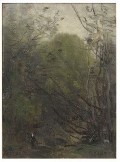 Woodland Study | Jean Baptiste Camille Corot | Oil Painting