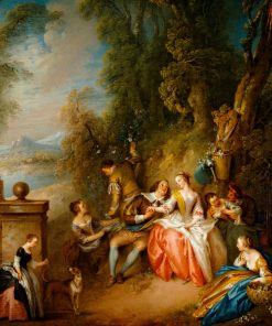 Fetes Champetre | Jean Baptiste Pater | Oil Painting
