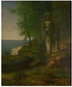 Study for the Four Seasons: Spring (Daphnis et Chloe) | Jean Francois Millet | Oil Painting