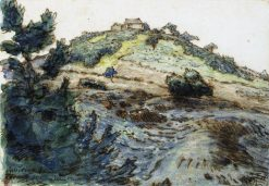 The Farm on the Hill | Jean Francois Millet | Oil Painting