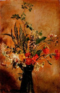 Study of Flowers in a Hyacinth Glass | John Constable | Oil Painting
