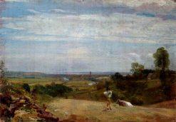 Summer Morning: Dedham from Langham | John Constable | Oil Painting