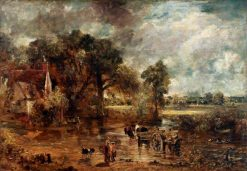 The Hay Wain (full-scale study) | John Constable | Oil Painting