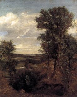 Dedham Vale   John Constable   Oil Painting