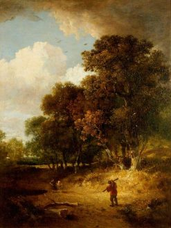 A Woody Landscape | John Crome | Oil Painting