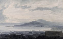 City and Bay of Naples | John Robert Cozens | Oil Painting