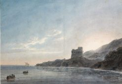 Coast Scene between 'Vietri and Salerno' | John Robert Cozens | Oil Painting