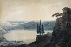 Lake Scene | John Robert Cozens | Oil Painting