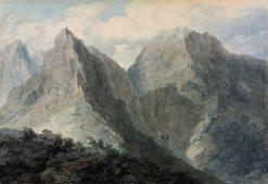 View in the Island of Elba | John Robert Cozens | Oil Painting