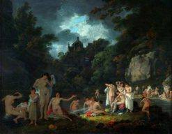 The Mermaid's Haunt | Julius Caesar Ibbetson | Oil Painting
