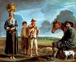 The Resting Horseman | Louis Le Nain | Oil Painting