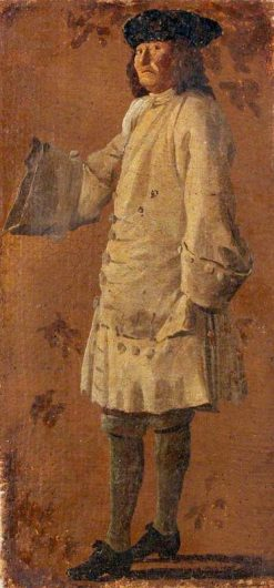 A Gentleman Wearing a White Coat | Luca Carlevarijs | Oil Painting