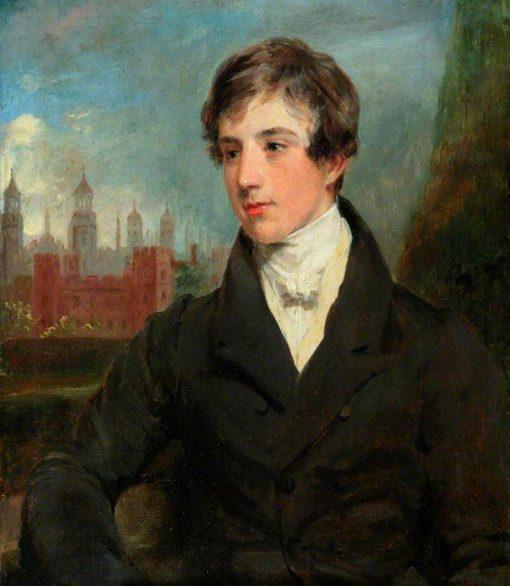 Portrait of a Man (Possibly Alexander Boyd) | Margaret Sarah Carpenter | Oil Painting
