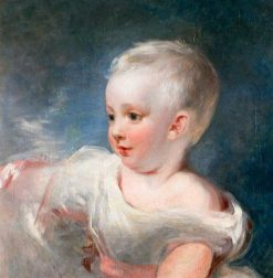 Portrait of a Young Child | Margaret Sarah Carpenter | Oil Painting