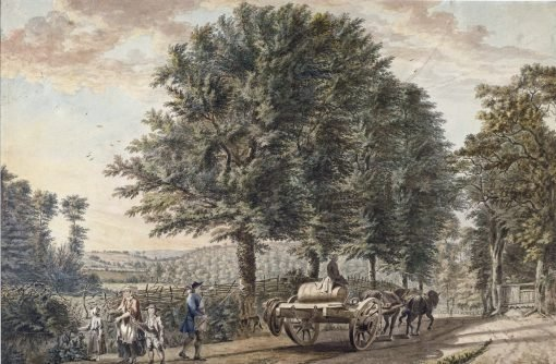 Landscape with Dray and Figures | Paul Sandby