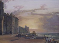 Windsor Castle: the North Terrace