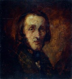 Portrait of a Man | Richard Dadd | Oil Painting