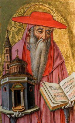 Saint Jerome | Vittore Crivelli | Oil Painting