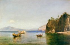 The Caves of Ulysees at Sorrento | William Collins | Oil Painting