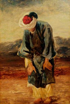 A Muslim at Prayer | William James Muller | Oil Painting
