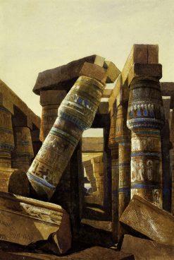 The Hall of Columns at Karnak