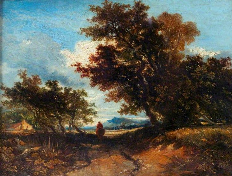Landscape with a Horseman | William James Muller | Oil Painting