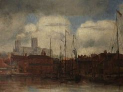 Lincoln Cathedral | Bernard Sickert | Oil Painting