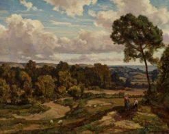Landscape | Herbert Hughes Stanton | Oil Painting