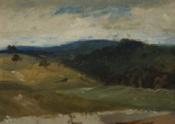 Hilly Landscape | Hercules Brabazon Brabazon | Oil Painting