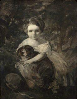Miss Jane Bowles | Sir Joshua Reynolds | Oil Painting
