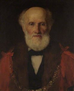 Sir Jerom Murch (1807-1896) | Solomon Joseph Solomon | Oil Painting