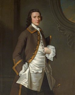 Christopher Anstey (1724-1805) | William Hoare | Oil Painting