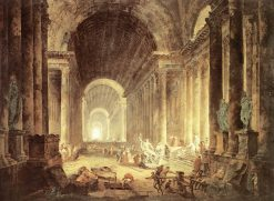 The Finding of the Laocoön | Hubert Robert | Oil Painting