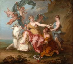 The Abduction of Europa (first version) | Noel Nicolas Coypel III | Oil Painting