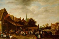 A Village Wake on St George's Day | David Teniers II | Oil Painting