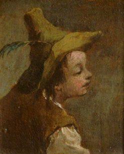 A Head of a Boy (diptych