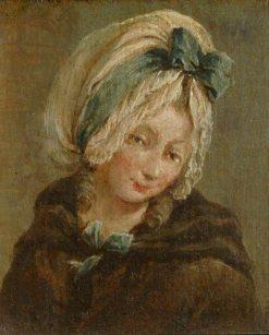 A Head of a Girl (diptych