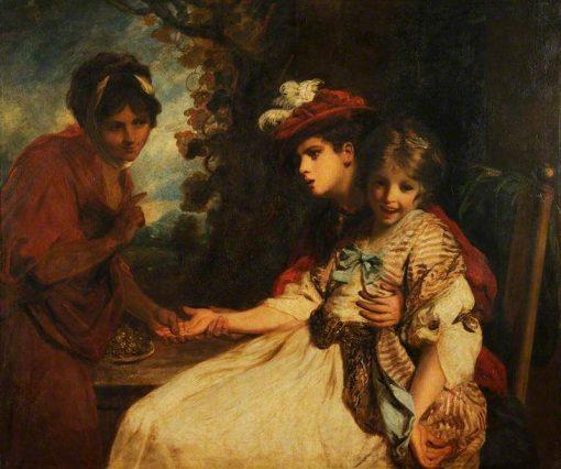 A Fortune-Teller | Sir Joshua Reynolds | Oil Painting