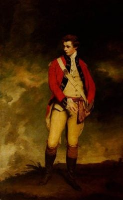 Captain John Hays St Leger | Sir Joshua Reynolds | Oil Painting