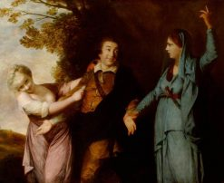 David Garrick (1716-1779) between Tragedy and Comedy | Sir Joshua Reynolds | Oil Painting
