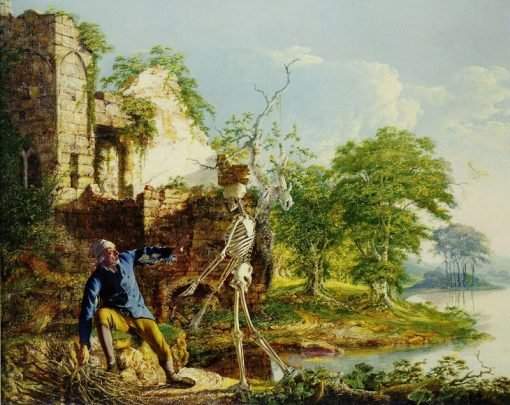 The Old Man and Death | Joseph Wright of Derby | Oil Painting
