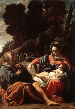 The Holy Family | Sisto Badalocchio | Oil Painting
