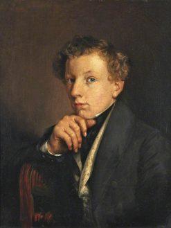 James Barrett   Alfred George Stevens   Oil Painting