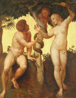 Original Sin | Alfred George Stevens | Oil Painting