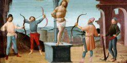 The Martyrdom of Saint Sebastian | Bartolomeo di Giovanni | Oil Painting