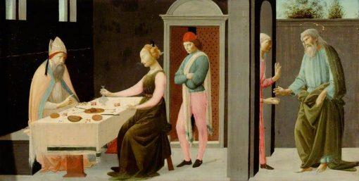 A Legend of Saint Andrew   Bartolomeo di Giovanni   Oil Painting