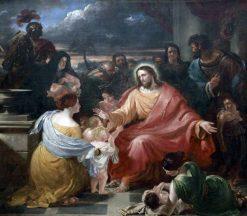 Christ Blessing the Little Children | Benjamin Robert Haydon | Oil Painting