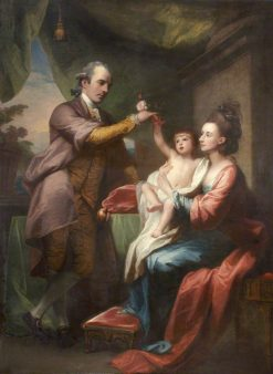Family Group | Benjamin West | Oil Painting